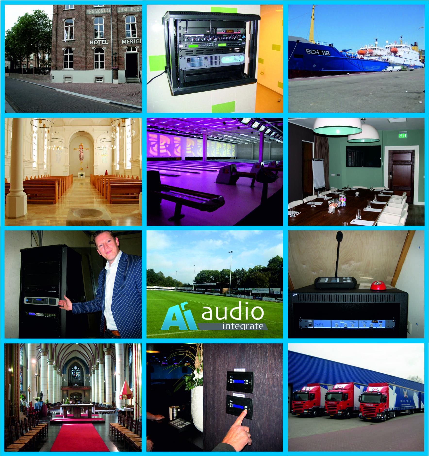 Referenties Audio Integrate